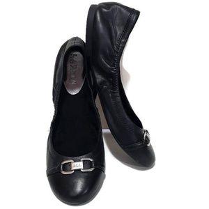 Lauren Ralph Lauren Leather Betsy Ballet Flats 10B